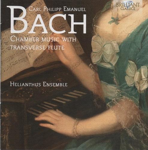 Brilliant Classics 94884 - C.P.E. Bach - Laura Pontecorvo