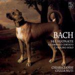 Arcana A426 - Bach, Sei sonate a cembalo certato e violino solo - Zanisi Nuti