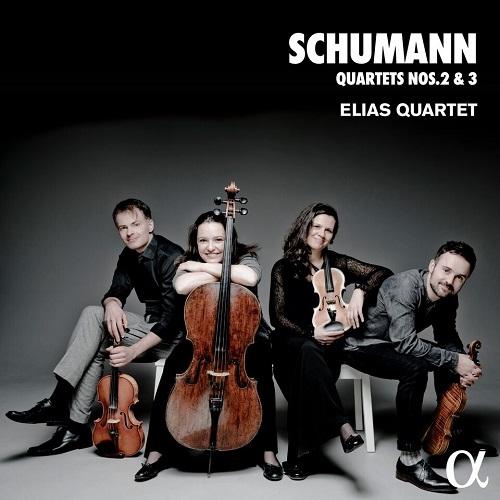 Alpha280_SCHUMANN_Quartetti 2 e 3_Elias Quartet