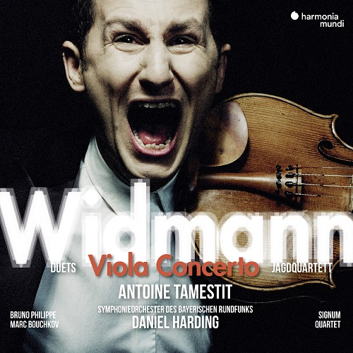 Harmonia Mundi_HMM902268_Widmann_Concerto per viola_Antoine Tamestit