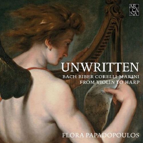 Arcana_A451_Unwritten. Dal violino all'arpa_Flora Papadopoulos