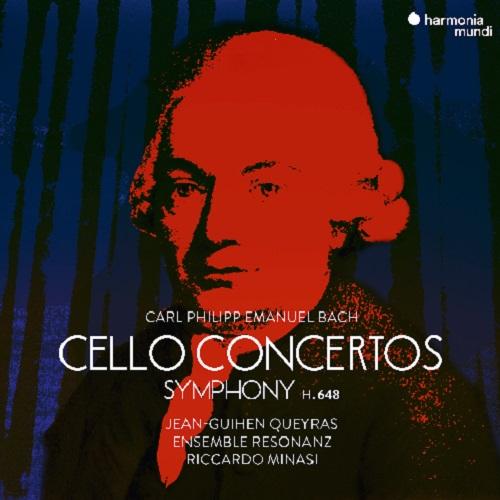 Harmonia Mundi_HMM902331_CPE_Bach_Cello concertos & Symphonies_Ensemble Resonanz_Minasi