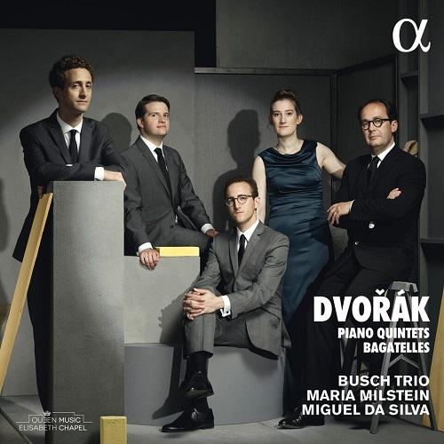 ALPHA403_DVOŘÁK_Quintetti con pianoforte_Bush Trio