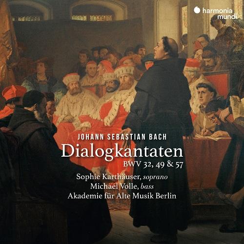 Harmonia Mundi_HMM902368_ Bach_Cantate per soprano e basso_Sophie Karthäuser