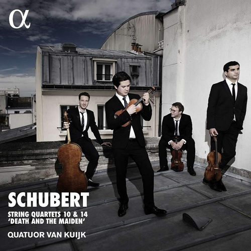 ALPHA417_3760014194177_SCHUBERT_La morte e la fanciulla_Quartetto Van Kuijk