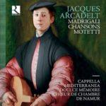 Ricercar_RIC392_5400439003927_Jacques Arcadelt_Madrigali__Cappella Mediterranea_