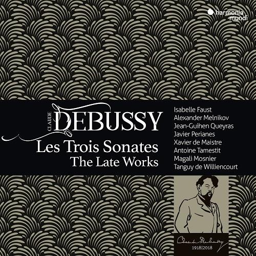 HMM902303_3149020934456_ Debussy_Les trois Sonates_Faust_Melnikov
