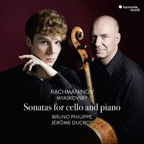 HMM902340_3149020935835_Rachmaninov_Sonata for cello and piano_Bruno Philippe_Jérôme Ducros
