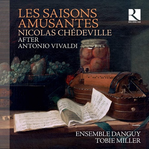 Ricercar_RIC398_5400439003989_CHEDEVILLE_Les Saisons Amusantes_Ensemble Danguy