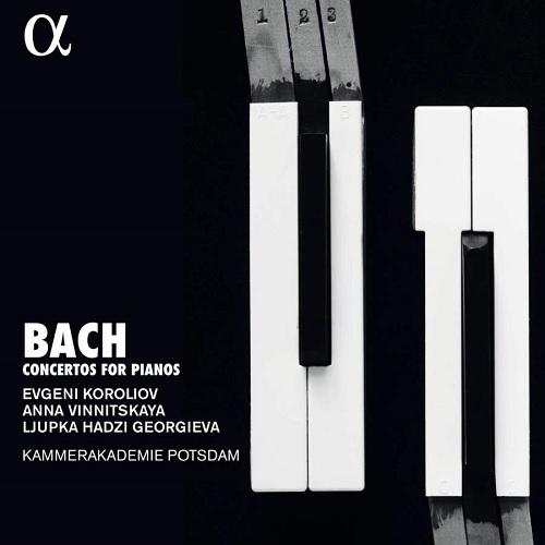 ALPHA446_3760014194467_BACH_Concerti per pianoforti_Evgeni Koroliov_Anna Vinnitskaya