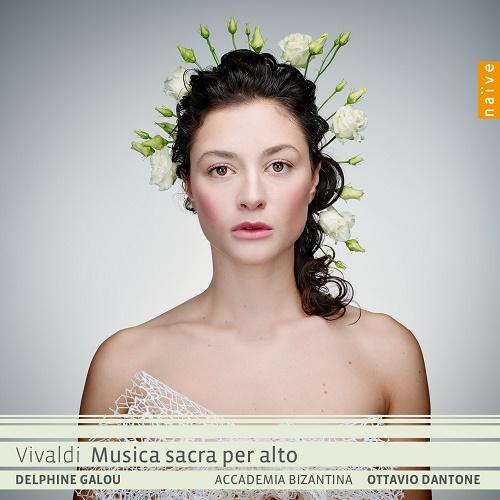 Naïve OP30569 0709861305698 Antonio Vivaldi Musica sacra per alto Delphine Galou contralto, Accademia Bizantina, Ottavio Dantone direzione