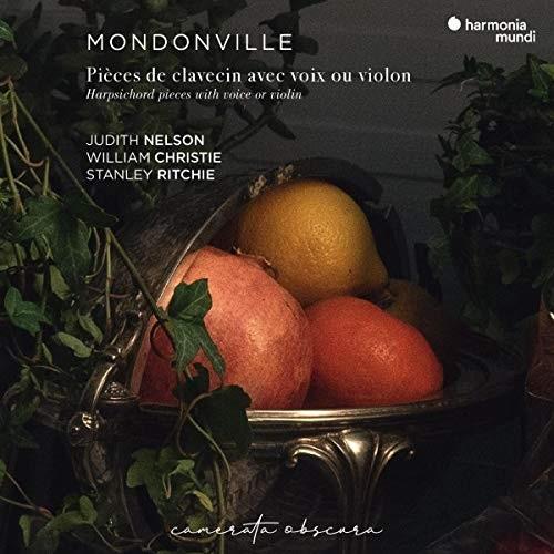 HMM931045_3149020937648_Jean-Joseph Cassanéa de Mondonville_Works for harpsichord_William Christie