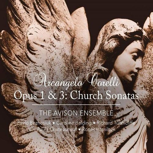 Linn_CKR414_0691062041478_CORELLI_Sonate da Chiesa Opp. 1 & 3_The Avison Ensemble