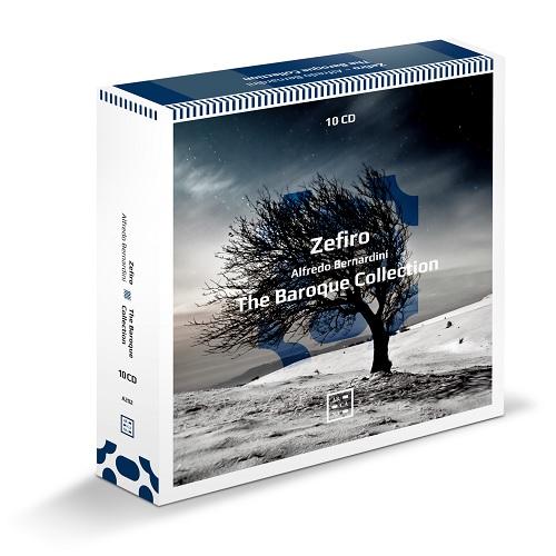 Arcana_A202_3760195732021_The Baroque Collection_Zefiro Alfredo Bernardini_cofanetto 10 CD