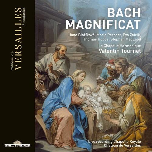 Château de Versailles_CVS009_3770011431168_BACH_Magnificat_La Chapelle Harmonique_Valentin Tournet