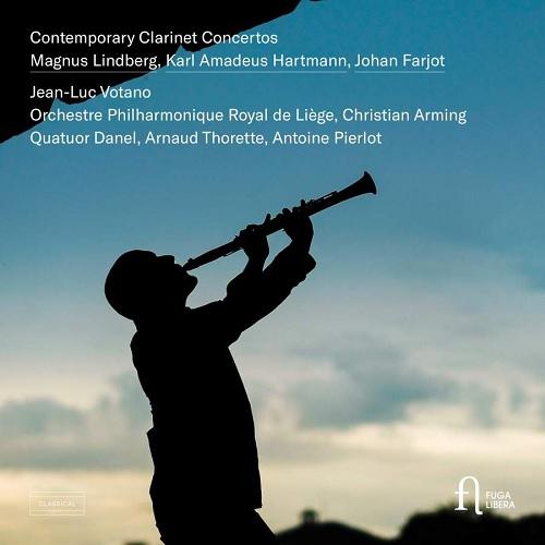 Fuga Libera_FUG572_5400439007529_Concerti per clarinetto contemporanei_Jean-Luc Votano_Liège Royal Philharmonic