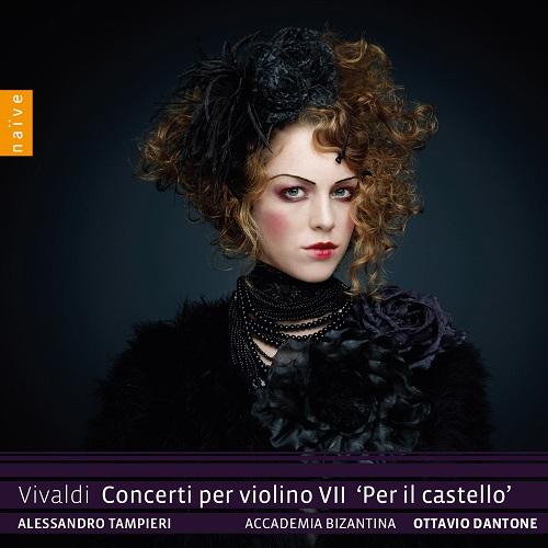Naïve_OP7078_3700187670788_Vivaldi_Concerti per violino VII_Alessandro Tampieri_ Accademia Bizantina_Ottavio Dantone