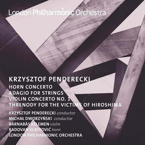 LPO0116_5060096760283_Krzysztof Penderecki_Horn and Violin Concertos_London Philharmonic Orchestra