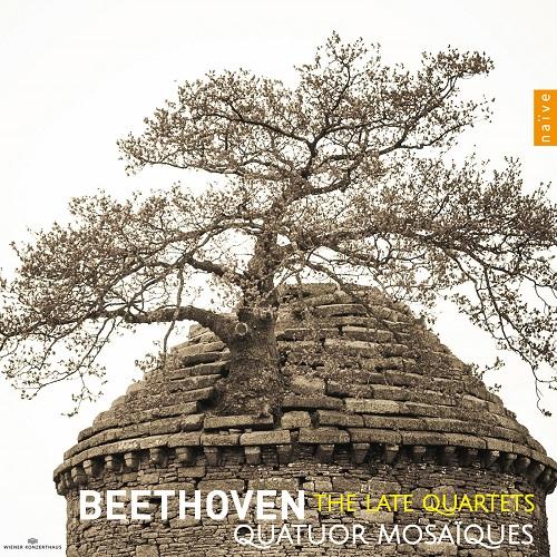 V5445 Beethoven late quartets Quatuor Mosaïques