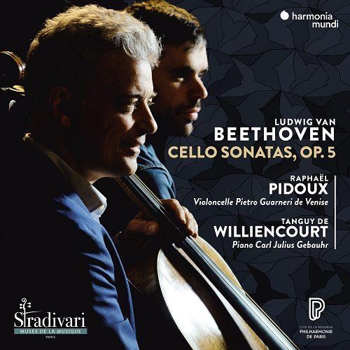 HMM902410_3149020941904_Beethoven_Cello Sonatas op.5_Raphaël Pidoux_Tanguy de Williencourt
