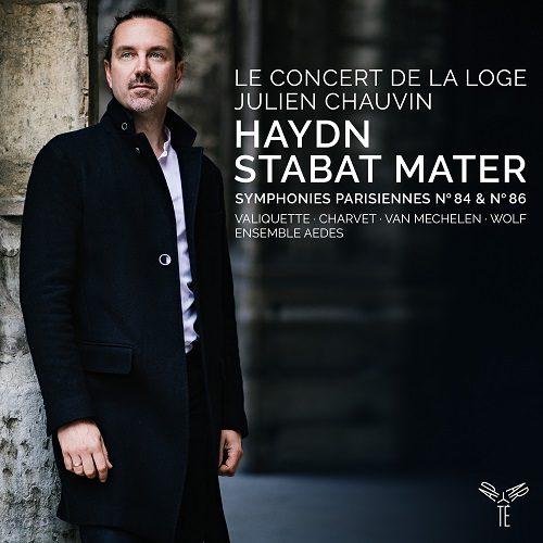 Aparté_AP245_5051083166157_Haydn_Symphonies Vol. 5 & 6 - Symphonies parisiennes n° 84 & n° 86 - Stabat Mater_Le Concert de La Loge_Julien Chauvin