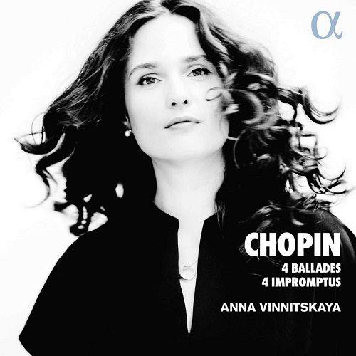 ALPHA728_3760014197284_CHOPIN_4 Ballate; 4 Improvvisi_Anna Vinnitskaya