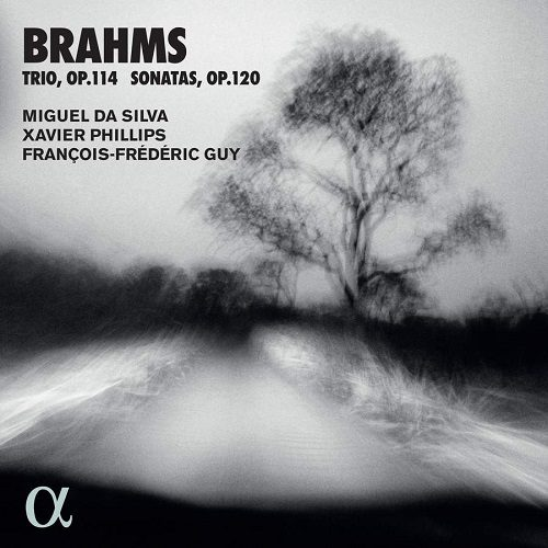 ALPHA648_3760014196485_BRAHMS_Trio e Sonate_Miguel Da Silva_Xavier Phillips_François-Frédéric Guy