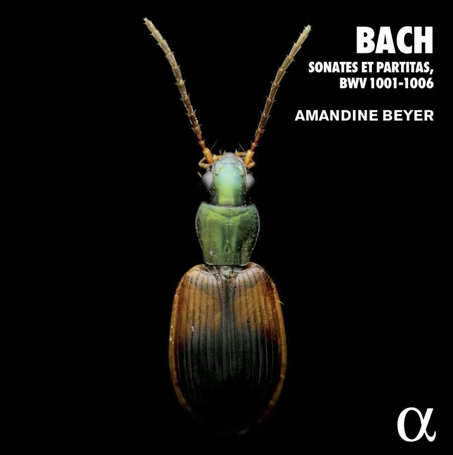 ALPHA610 3760014196102 Johann Sebastian Bach Bach- Sonates et partitas, BWV 1001-1006 Amandine Beyer
