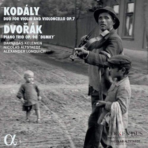 ALPHA737 3760014197376 Antonín Dvořák; Zoltán Kodály Kodály- Duo for Violin and Violoncello, Op. 7 - Dvořák- Piano Trio, Op. 90 Dumky Barnabás Kelemen; Nicolas Altstaedt; Alexander Lonquich